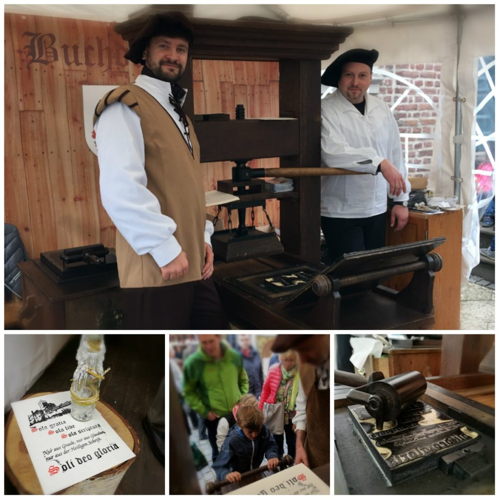 Collage Mittelaltermarkt 2017